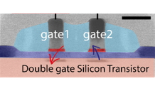 Dispersive gate reflectometry of a hole CMOS spin qubit